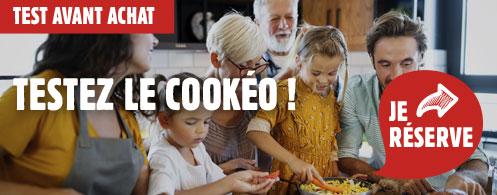 Testez le cookeo seb